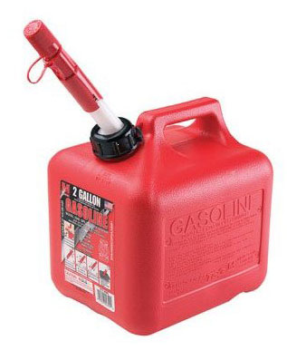 Gas Can 2 Gal 8 Oz Spillproof