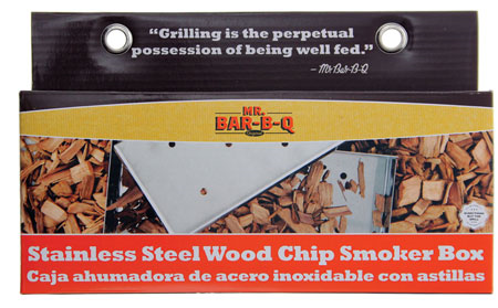 Smoker Box Stainlss Wood Chip