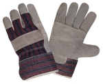 Gloves Split-Leather Palm Lg
