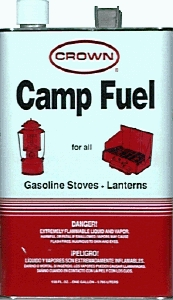 Camping Fuel: Liquid Fuel (White Gasoline)