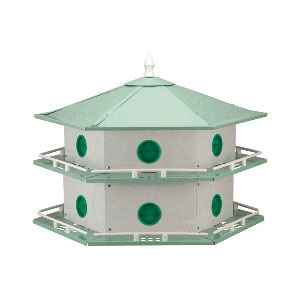 Bird House Martin 12-Room Alm