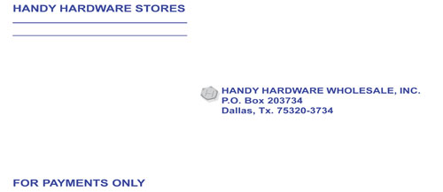 "Store Supplies: ""handy"" Envelopes"