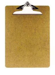 Store Supplies: Clipboards, Pad Holders