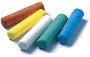 Chalk Railroad Crayon Yellow